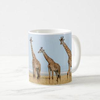 Mug Troupeau de girafe dans la prairie