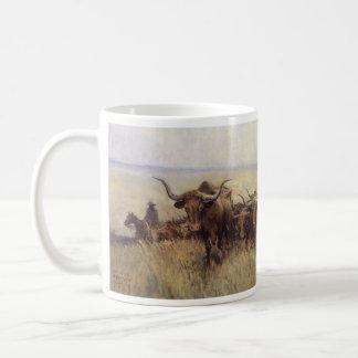 Mug Troupeau de traînée vers le Wyoming par WHD