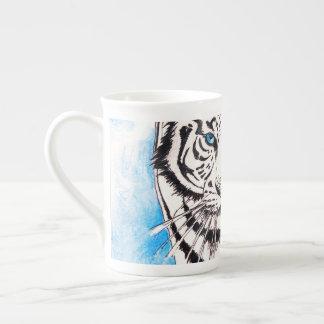 Mug Truie blanche de tigre sibérien
