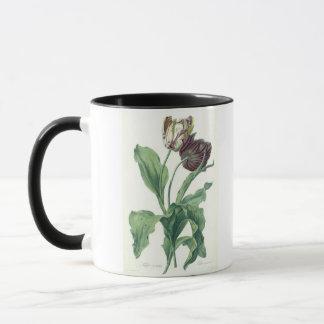 """Mug Tulipe de jardin, de """"opéra Botanica"""", gravé par L"""