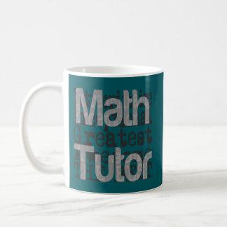 Mug Tuteur de maths Extraordinaire