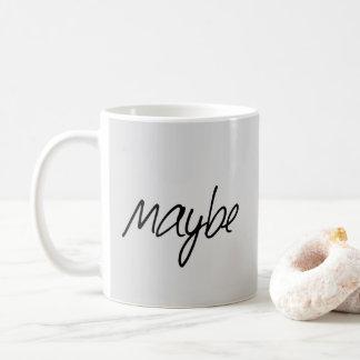 Mug Typographie drôle des textes de réponse peut-être