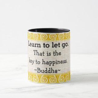 Mug Typographie inspirée de citation de Bouddha
