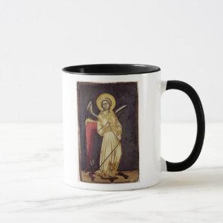 Mug Un ange avec un démon sur une chaîne