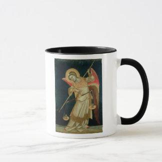Mug Un ange pesant une âme, c.1348-55