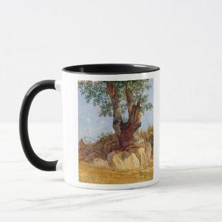 Mug Un arbre en Campanie, 1822-23