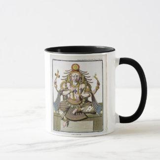 Mug Un aspect de Shiva, de 'voyage Indes aux. et d'une