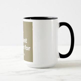 Mug Un bâillement est un cri perçant silencieux pour
