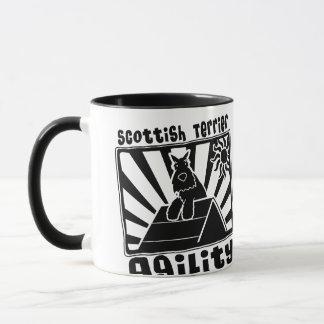 Mug Un-Cadre d'agilité de Terrier d'écossais
