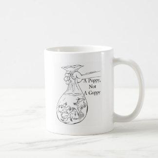 Mug Un chiot, pas un sac de guppy des guppys