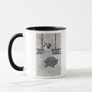 Mug Un Courtisan avec un Shamisen