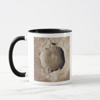 Mug Un cratère d'impact de météorite