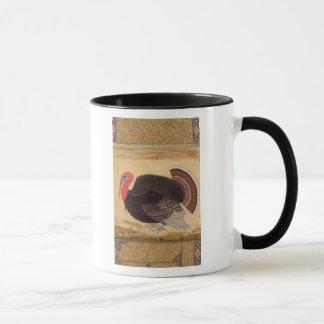 Mug Un dindon, apporté à Jahangir