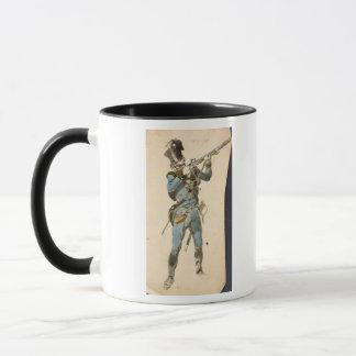 Mug Un fusilier des Jaegers autrichiens