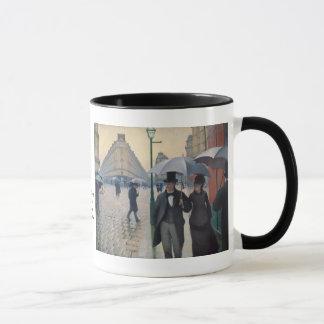 Mug Un jour pluvieux à Paris par Gustave Caillebotte