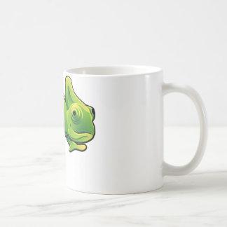 Mug Un lézard mignon de caméléon