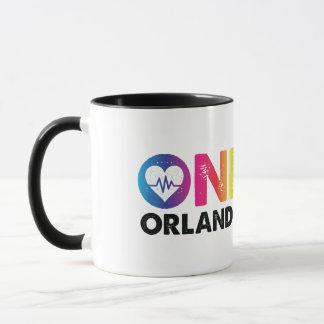 Mug Un Orlando un coeur d'arc-en-ciel d'impulsion