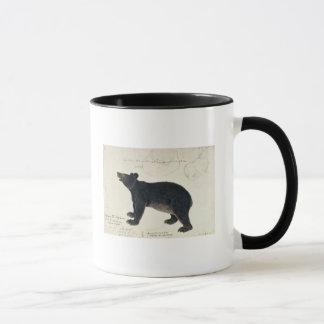 """Mug Un ours noir asiatique, """"Ursus Tibetanus """""""