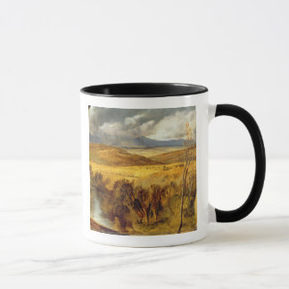 Mug Un paysage des montagnes, c.1825-35 (huile à bord)