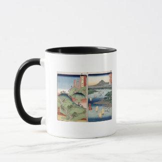 Mug Un paysage et un paysage marin
