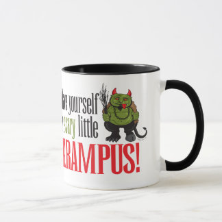 Mug Un petit Krampus effrayant