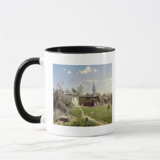 Mug Un petit yard à Moscou, 1878