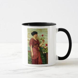 Mug Un rose rouge et rouge