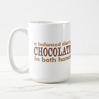 Mug Une alimentation équilibrée est…
