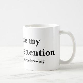 Mug Une attention non répartie