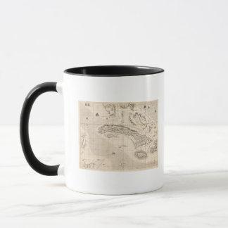 Mug Une carte de l'Empire Britannique en feuille 14 de