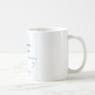Mug Une citation célèbre de question plus belle