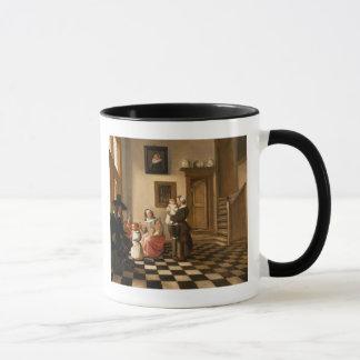 Mug Une famille dans un intérieur
