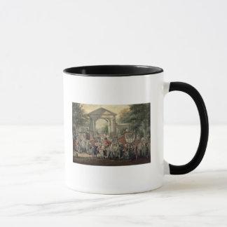 Mug Une fiesta dans un jardin botanique, 1775