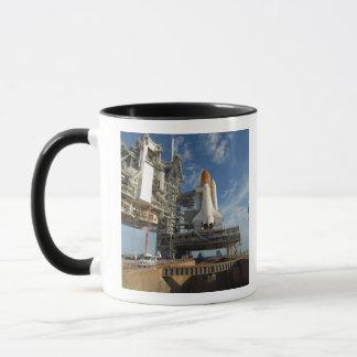Mug Une navette spatiale de vue l'Atlantide sur la