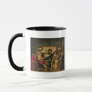 Mug Une partie musicale, c.1625