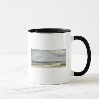 Mug Une plage sur la mer baltique chez Laboe, 1842