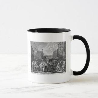 Mug Une représentation de mars des gardes