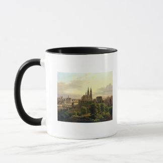Mug Une ville médiévale en 1830, 1830