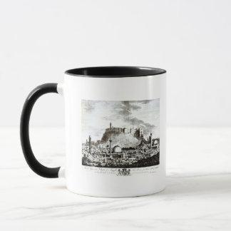Mug Une vue de la ville et du château d'Alep, Syrie