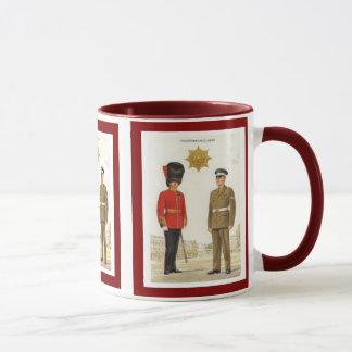 Mug Uniformes historiques d'armée britannique, gardes