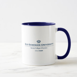 Mug Université d'ODU Strome des affaires - bleu