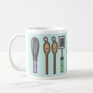 Mug Ustensiles de cuisine de Kawaii