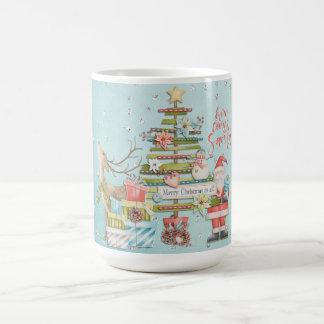 Mug Vacances de Noël - vient ici Père Noël