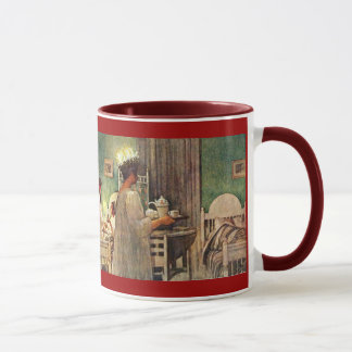 Mug Vacances du St Lucia de Suédois par Carl Larsson