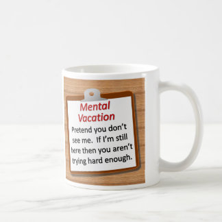 Mug Vacances mentales