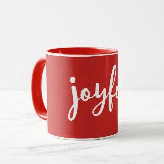 Mug Vacances modernes joyeuses du ROUGE |