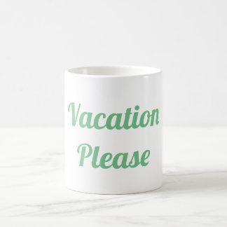 Mug Vacances svp