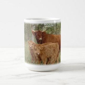 Mug Vache des montagnes avec des veaux