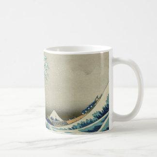 Mug Vague de Hokusai la grande outre de Kanagawa