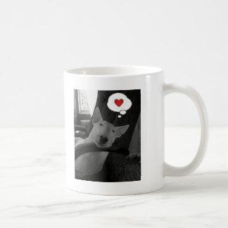 Mug valentine anglais de bull-terrier